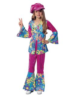 flower power girl kids costume more options size one day