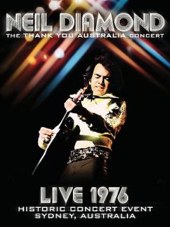 Neil Diamond   The Thank You Australia Concert Live 1976 DVD, 2008