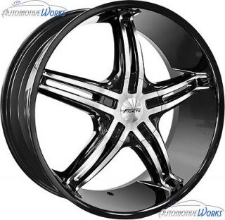 Black Mirror Wheels Rims 20 (Fits 2011 Jeep Grand Cherokee Overland