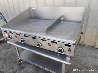 48 VULCAN THERMOSTATIC GAS HEAVY DUTY GRIDDLE FLAT GRILL 948RX