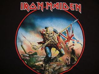 Iron Maiden The Trooper British Heavy Metal Band Concert Tour