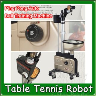Table Tennis Robot Balls Picker Ping Pong Auto Ball Training Machine