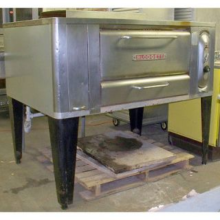 blodgett commercial gas pizza oven  4250 00