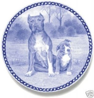 american pit bull terrier puppy danish blue plate time left