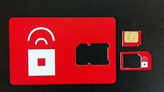 Red Pocket Mobile Micro SIM Card GSM Prepaid Brand New Never Activated