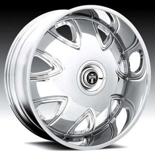 28 DUB 28x10 BANDITO Chrome Wheel & TIRE Package 28inch with TIRES