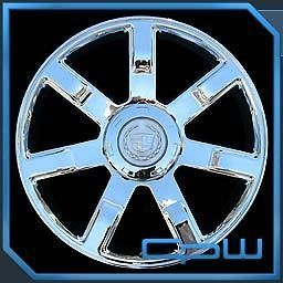 SET OF 4 NEW WHEELS RIMS FIT CADILLAC ESCALADE 24 INCH CHROME OE