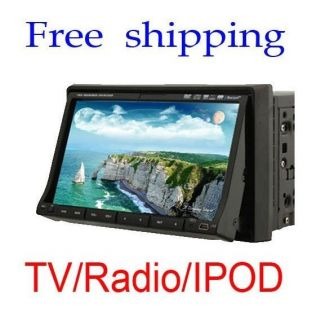Ouku Brand HD 7Car VCD DVD Player Touch Screen Double Din+BLUETOOTH