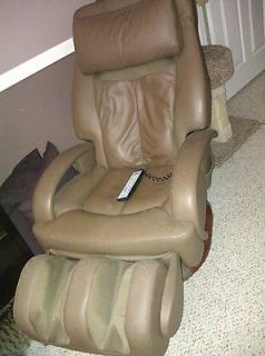 MASSAGE CHAIR  WORKS WELL  Sharper Image HT 270 Human Touch Stretching