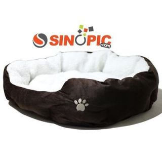 Luxury warm round unique soft Pet dog cat bed Large Size lovely cute