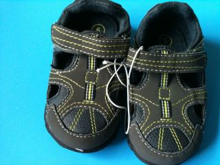 new infant boys genuine kids oshkosh casual velcro sandals size