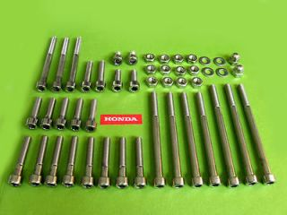 cbx1000 stainless steel ENGINE BOLT KIT motor bolts nuts allen head