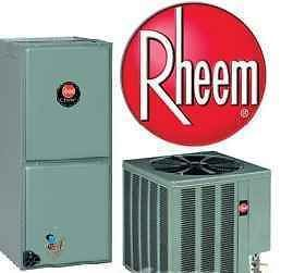Rheem 2.5 Ton R410a 16 Seer Central Air Conditioning System