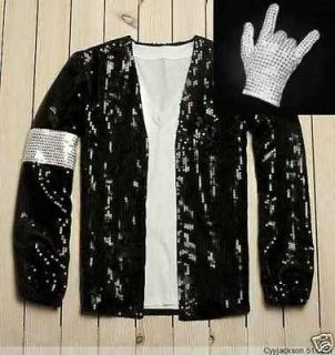 michael jackson billie jean jacket free bad necklace from hong