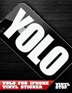 YOLO YMCMB Drake Lil Wayne iPhone Decal Vinyl Sticker OFWGKTA