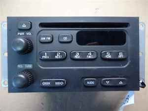 01 05 grand vitara single disc cd radio oem time
