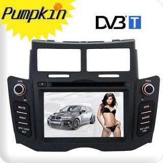 New In Dash Car Radio CD DVD  Player W/GPS Audio Aux F/Toyota Yaris
