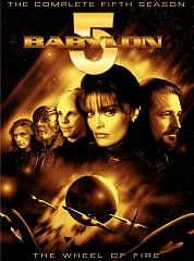 Babylon 5   The Complete Fifth Season DVD, 2009, 6 Disc Set