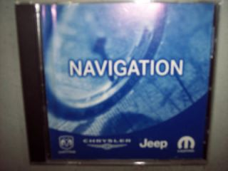 navigation disc dodge charger chrysler 300  time left