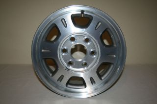 Factory OEM Chevy 6 Lug 16 X 7 Pick Up Truck Alloy Aluminum Wheel Rim