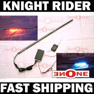 Flashing Red Knight Rider SMD LED Light Scanning Light Kit Lights