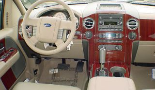 Mercedes SLK 98 99 00 Interior Wood Pattern Dash Kit Trim Panels Parts