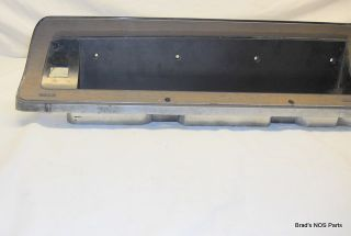 Mopar 1967 Dodge Dart Woodgrain Instrument Panel Bezel