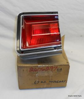 Mopar 1967 Dodge Coronet Wagon Tail Light Lamp Assy