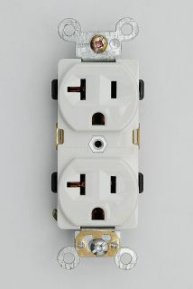 Industrial Grade Heavy Duty Receptacles 20A Outlet 5 20R Plug 62080 W