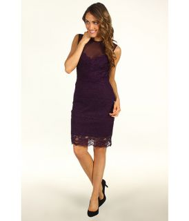 Nicole Miller Sleeveless Stretch Lace Dress