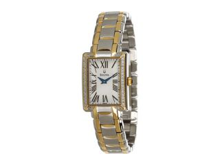 bulova ladies diamond 98r157 $ 374 25 $ 499 00