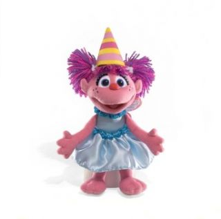 Gund Sesame Streets Happy Birthday Abby Cadabby 11 Plush Toy