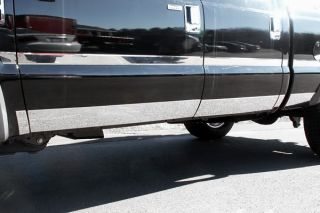 11 13 Ford F 250 Rocker Panels, Lower Kit Truck Chrome Trim10 Pcs New