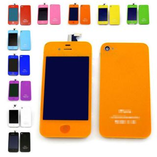 LCD Screen Digitizer Back Cover Housing Color Conversion Kit Set Fit