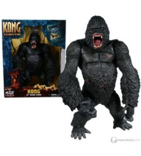 King Kong Deluxe 15 Movie Figure Open Mouth in Stock