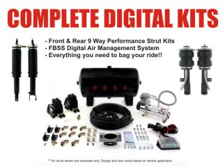 Air Lift 95752 FBSS Digital Air Ride Suspension Kit 04 05 06 07 08