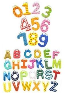 Magnetic Numbers Alphabet Fridge Magnets Toy