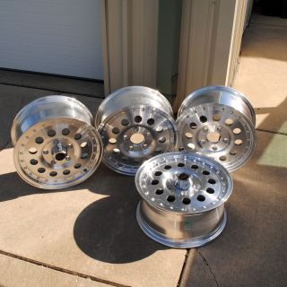 American Racing Rims set of 4 Style 62 Outlaw size 15x7  5 bt Truck