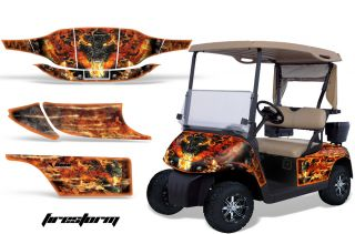 AMR Graphics Kit Decal EZGO Golf Cart Accessories Parts
