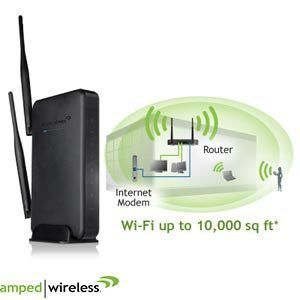 Amped Wireless High Power Wireless N 600mW Smart Router Extreme Range