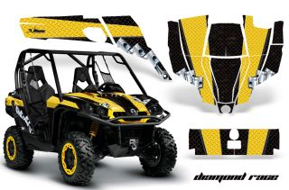 AMR Graphics Kit Canam Commander Decals 800 1000x Race