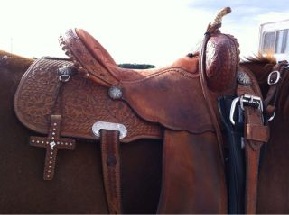 Barrel Racing Saddle Ammerman 14 5 Seat