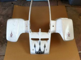 Front and Rear White Fender Set All Years from 2005 Yamaha Banshee ATV