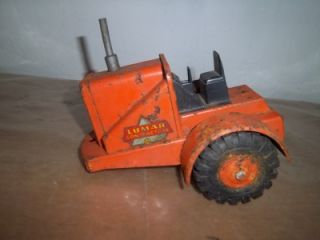 unusual antique toy truck mar toys lumar contractors
