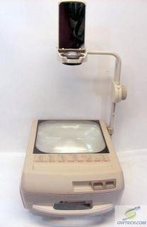 APOLLO CONCEPT 2210 COMPACT PORTABLE OVERHEAD PROJECTOR *2 BULBS