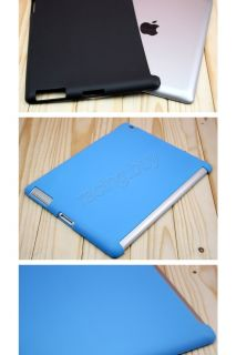 Blue Color TPU Case Skin Soft Smart Cover Companion for Apple iPad 2