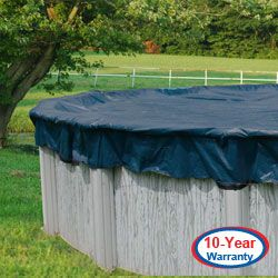 Round 10 Year Warranty Above Ground Swimming Pool Winter Cover