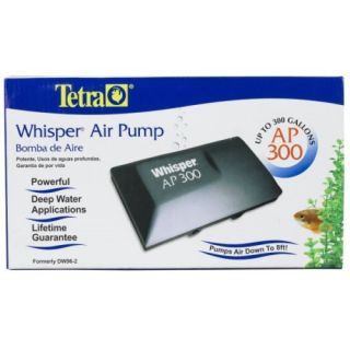 Tetra Whisper AP 300 Air Pump Aquarium Fish Tank