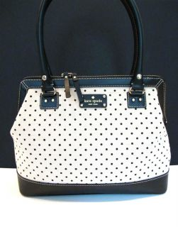 Authentic Kate Spade Belltown Ashlyn Purse Shoulder Bag Handbag Polka