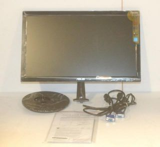 Asus VS208N 20 Widescreen LED LCD Monitor Black